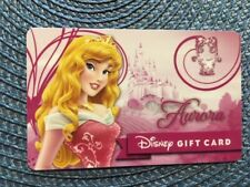 Aurora Disney gift card collectible only - no $ value or points on it