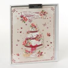 Wishing Well Studios Wedding Day Luxury Boxed Card