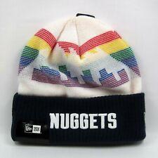New Era Men's NBA Denver Nuggets Team City Series Winter Knit Beanie Hat