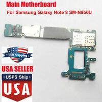 Replace For Samsung Galaxy Note 8 N950U 64GB Main Motherboard Board Unlocked USA