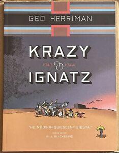Krazy and Ignatz 1943 1944 He Nods In Quiescent Siesta TPB