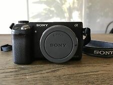 Used Sony Alpha NEX-6 16.1MP Digital Camera - Black (Body Only)... Needs Work!