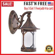 Outdoor Wall Porch Retro Light Exterior Lighting Lamp Lantern Fixture Waterproof