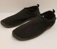Air Balance Men's Aqua Water Shoes, Black, sz 13, Pre-Owned