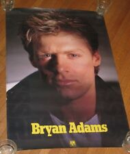 "Vintage 1985 Bryans Adams Promotional Poster For Reckless 36"" X 24"""