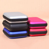 2.5'' Digital Storage Bag Hard Drive Case Cover USB Data Cable Organizer Pouch