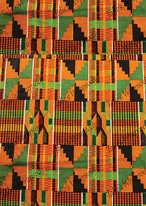 A2 Kente Cloth Print Wrapping Paper And Gift Tags for any occasion