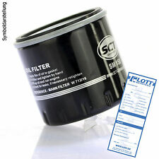 Ölfilter passend für RENAULT MEGANE, TWINGO, CLIO, KANGOO // DACIA DUSTER, LOGAN