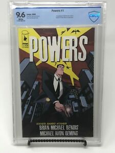 Powers #1 - 1st Series - Bendis & Oeming - CBSC 9.6 (CGC, PGX) Image Comic