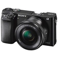 Sony ILCE-6000 Alpha a6000 6000L Black Body 16-50mm OSS Kit