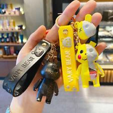 Home Car Cool Bear Pp Keyring Vary Bear Key Chain Bag Pendant Novelty