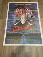 Nightmare On Elm Street 3 Italian Wall Poster autographed by Robert Englund