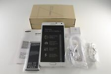 Samsung Galaxy Note 4 SM-N910T Frost White 32GB 16MP T-Mobile Unlocked GSM