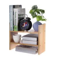 Mini Standregal Lagerregal Bücherregal Schreibtisch Organizer Holzregal DIYregal