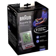 BRAUN ExactFit 3 Oberarm - Blutdruckmessgerät BP6100 Präzisionsgerät 2 Anwender