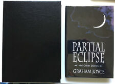 Partial Eclipse Graham Joyce Subterranean Press Traycased SIGNED NEW