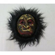 Adult Gorilla Face Mask Halloween Carnival Horror Fancy Dress Costume Accessory