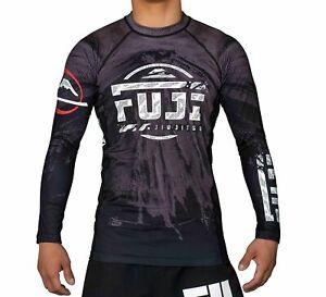 Fuji Mount MMA BJJ Jiu Jitsu LongSleeve Long Sleeve LS Rashguard Rash