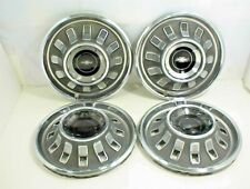 "1967 CHEVROLET IMPALA HUBCAPS WHEEL COVERS 14"" BELAIR BISCAYNE WAGON"