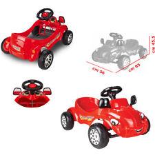 Auto a Pedali per Bambini Macchina Cavalcabile con Pedali Giocattolo Rossa