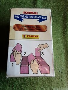 Panini THE ALL-TIME GREATS 1920-1990. UNOPENED BOX. 100 PACKETS!!!!
