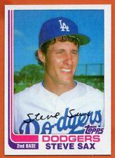 1982 Topps Traded #103T Steve Sax NEAR MINT-MINT+ Rookie RC Los Angeles Dodgers