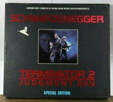 Terminator 2 Judgement Day Box Set Special Edition 2 Video Cassettes Tape VHS F1