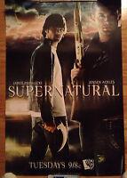 Supernatural WB POSTER Jared Padalecki JENSEN ACKLES CW