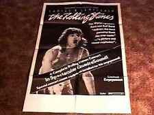 LADIES & GENTLEMEN : ROLLING STONES MOVIE POSTER 1973