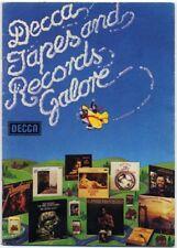 Camel Stones Caravan Kraan T.Rex Procol Move Genesis ZZ Top 1975 LP Catalogue