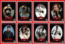 BOSTON BRUINS 1970s Retro Hockey Card Style Team Photo Set 33 Photo Cards MINT