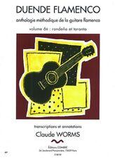 Partition pour guitare - Claude Worms - Duende Flamenco - Volume 6B