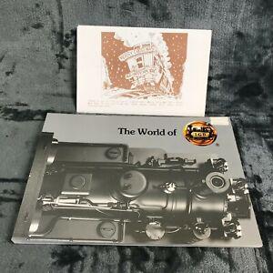 LGB Book: The WORLD OF LGB 1990 + Christmas Newsletter