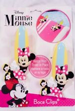 New listing Disney Minnie Mouse Boca Clips. 2 Minine Mouse Clips to Keep Towels in Place.