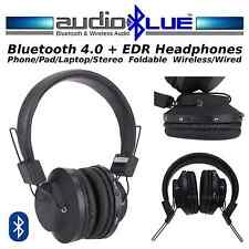 AudioBLUE Bluetooth 4.0 Stereo Headset -Wireless-phone/devices