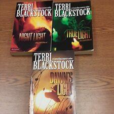 Terri Blackstock:RESTORATION Series 2-4 (Lot of 3 Books) night true dawn's light