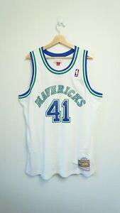 100% Authentic Dirk Nowitzki Dallas Mavericks Swingman Jersey Mitchell & Ness