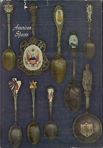 1,200 ea Antique Silver Souvenir Historical Spoons / Illustrated Book