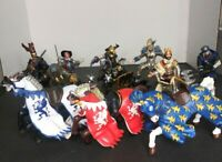 Schleich - Papo Medieval  Knights & Horses Figures Lot # 11