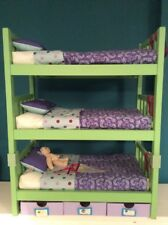 Genuine American Girl Doll Accessories  (Camp Bunk Bed & Extra Bunk)