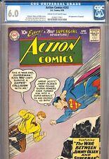 ACTION COMICS #253 CGC 6.0 2nd app. SUPERGIRL! DC Comics 1959