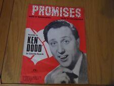 Sheet Music - Promises - Ken Dodd