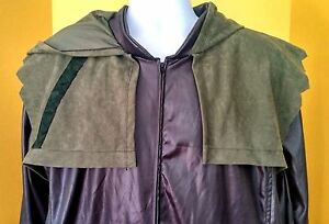 Rubies Deluxe Green Arrow Costume Jacket Cosplay DC Comics Oliver Queen - XL