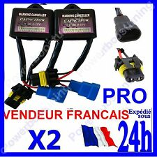 2 WARNING CANCELLER CAPACITOR POUR ORDINATEUR DE BORD KIT AU XENON HID EN 9-16v
