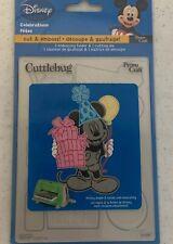 Provo Craft Cuttlebug Disney Cutting Die & Embossing Folder Celebrations