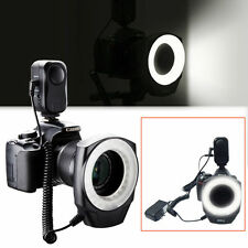 NEW 48 LED RECHARGEABLE VIDEO CAMERA MACRO RING LIGHT