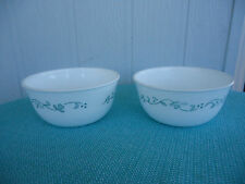 2 corelle corning ware country cottage noodle bowls