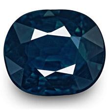 1.16-Carat Flawless Cushion-Cut Unheated Nigerian Sapphire (IGI-Certified)