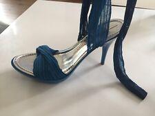 Miss Sixty sandales escarpins talons hauts T39 liens à nouer Aux chevilles