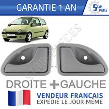2 POIGNEE DE PORTE AVANT GAUCHE + AVANT DROITE RENAULT TWINGO 93-07 - GRISE